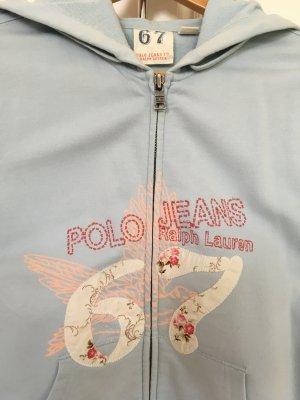 Sweatshirt mit Kapuze von Tommy Hilfiger, Hellblau, Größe 36