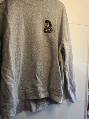 Sweatshirt mit Kirsch Details