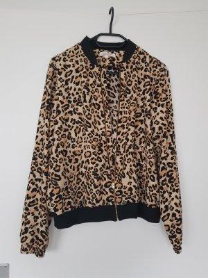 Sweatshirt mit Leopard muster