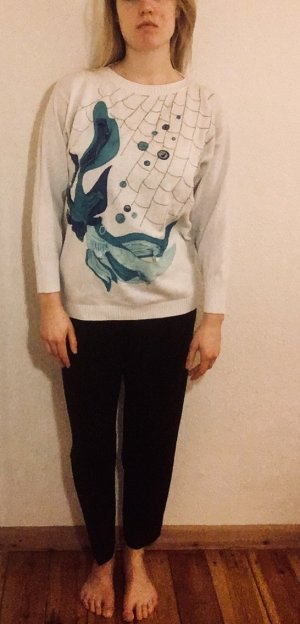 Sweatshirt mit Meereswesen