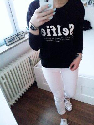 "Sweatshirt mit Print ""Selfie"""