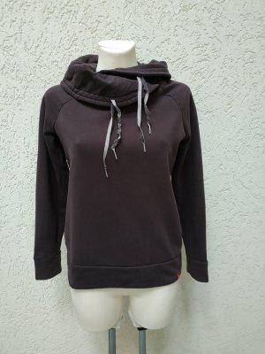 Sweatshirt mit Schalkragen von Esprit, Gr 34