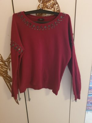 Ann Christine Sweat Shirt bordeaux mixture fibre