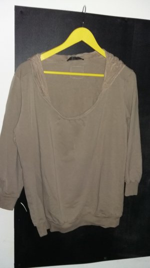 Sweatshirt mit Seide