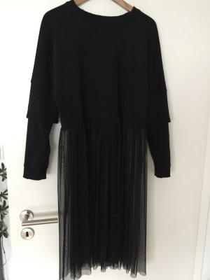 Zara Suéter negro Algodón