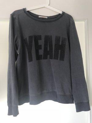 Sweatshirt modern mit Schriftzug
