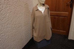 Sweat Shirt sand brown cotton