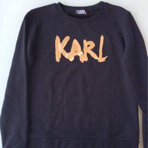 Sweatshirt, Neu, Gr. L, Karl Lagerfeld, schwarz