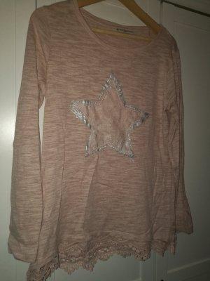 Sweatshirt Polluver Rosa Gr. 40