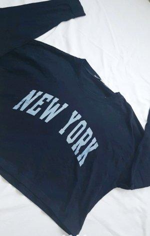 Sweatshirt Pulli Langarmshirt New York