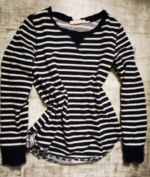 Sweatshirt Pullover gestreift von H&M Gr.XS