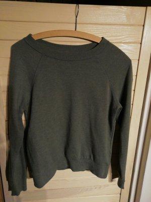 HM Sweatshirt gris vert