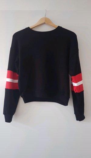 Sweatshirt Pullover mit Detail
