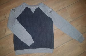 Sweatshirt Pullover - vorne Denim - grau  - Gr. XS von LTB - Top!