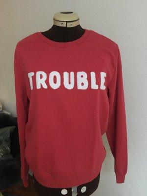 Sweatshirt rot von catwalk junkie, Gr.S