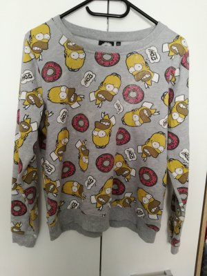 Sweatshirt Simpsons Homer Donut