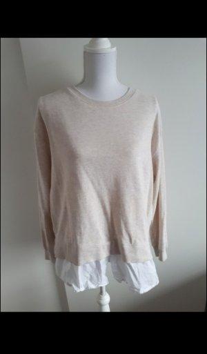 Sweatshirt Sweater Bluse doppellagig H&M