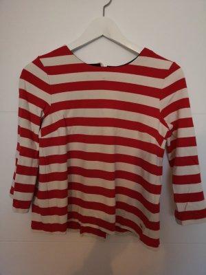 Tommy Hilfiger Gestreept shirt wit-rood
