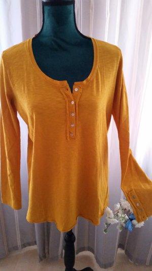 Sisterhood Vestido tipo túnica naranja dorado