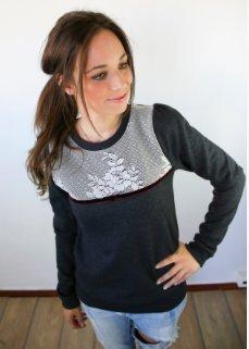 Sweatshirt Vintage-Style von DaWanda