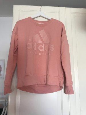 Adidas Felpa rosa-color oro rosa