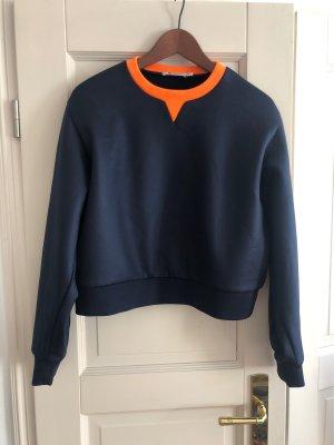 Alexander Wang Suéter azul oscuro-naranja