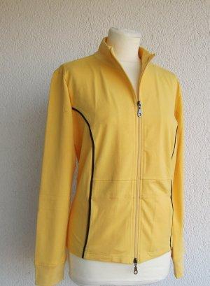 b.p.c. Bonprix Collection Suéter amarillo-negro Algodón