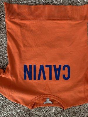 Calvin Klein Sweat Shirt orange