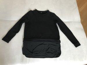 Sweatshirt von COS mit eingenähtem unteren Blusenteil