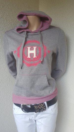 Hunkemöller Hooded Shirt light grey-pink