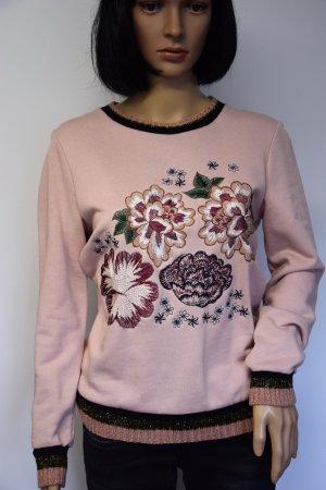 Suéter rosa empolvado Algodón