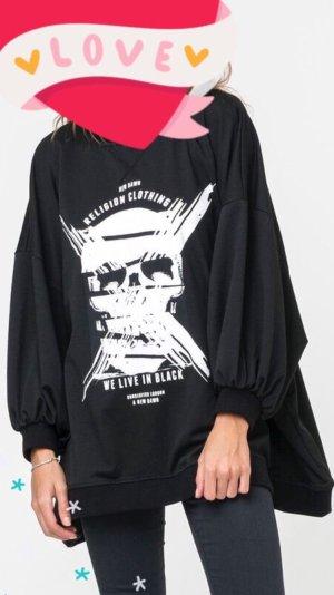 Religion Suéter negro-blanco