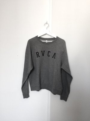 Sweatshirt von RVCA Gr. L - grau