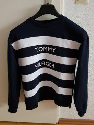 sweatshirt von tommy hilfiger in dunkelblau