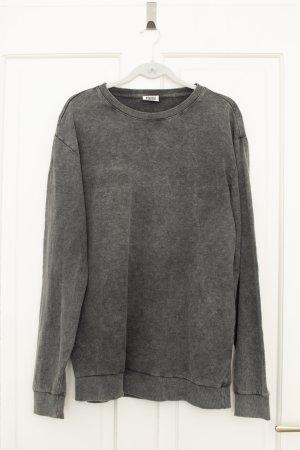 Sweatshirt von Weekday, Gr. L - washed