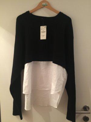 Sweatshirt von Zara Größe 38
