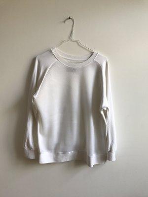 Sweatshirt, Vorderseite aus Mesh