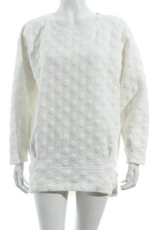 Sweatshirt weiß Urban-Look