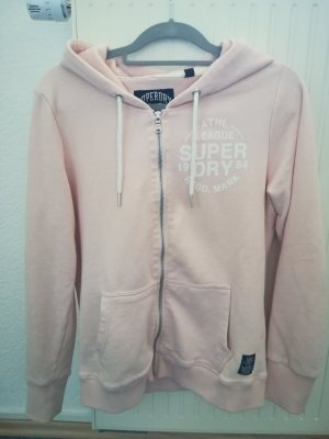 Superdry Sweatjack roze