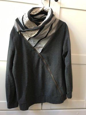 John Baner Sweatshirt grijs-room