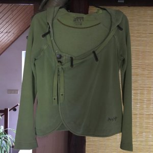 Miss Sixty Giacca-camicia verde