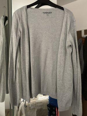 Chaqueta estilo camisa gris