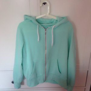 SweatshirtJacke in Mint