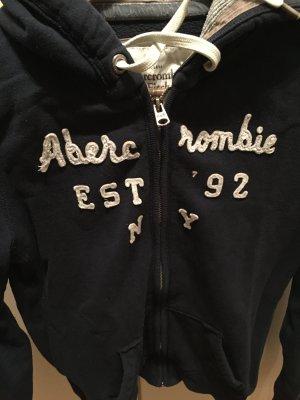 Abercrombie & Fitch Veste à capuche bleu coton