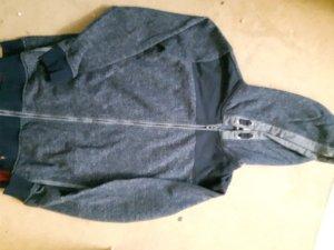 sweatshirtjacke mit reisverschluß