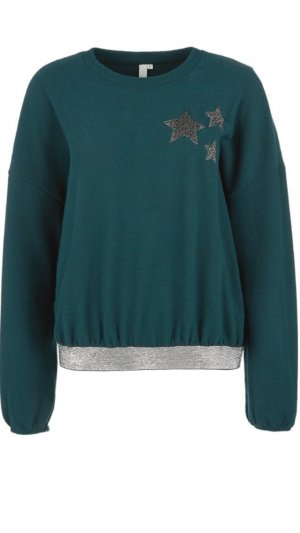 s.Oliver Oversized trui bos Groen