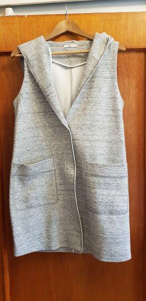 Esprit Chaleco con capucha gris claro-gris