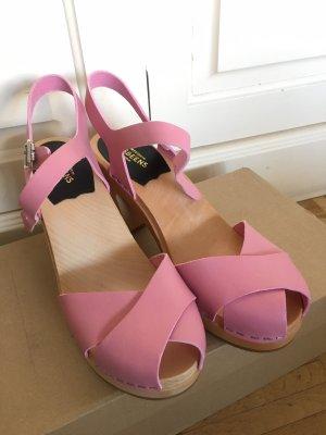 Swedish Hasbeens Clogs Merci pink rosa