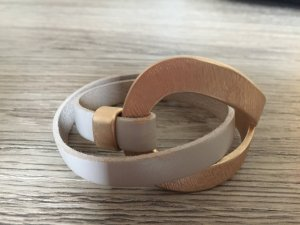 Sweet Deluxe Armband - gold taupe