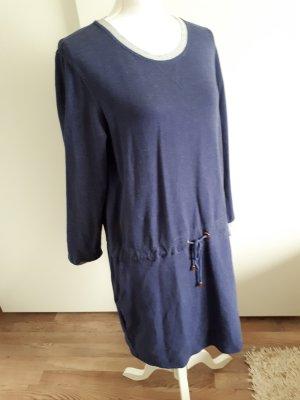 TCM Vestido de tela de sudadera azul